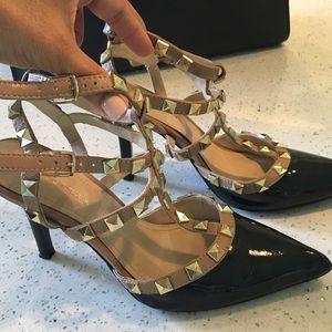 BCBGeneration patent stud heels